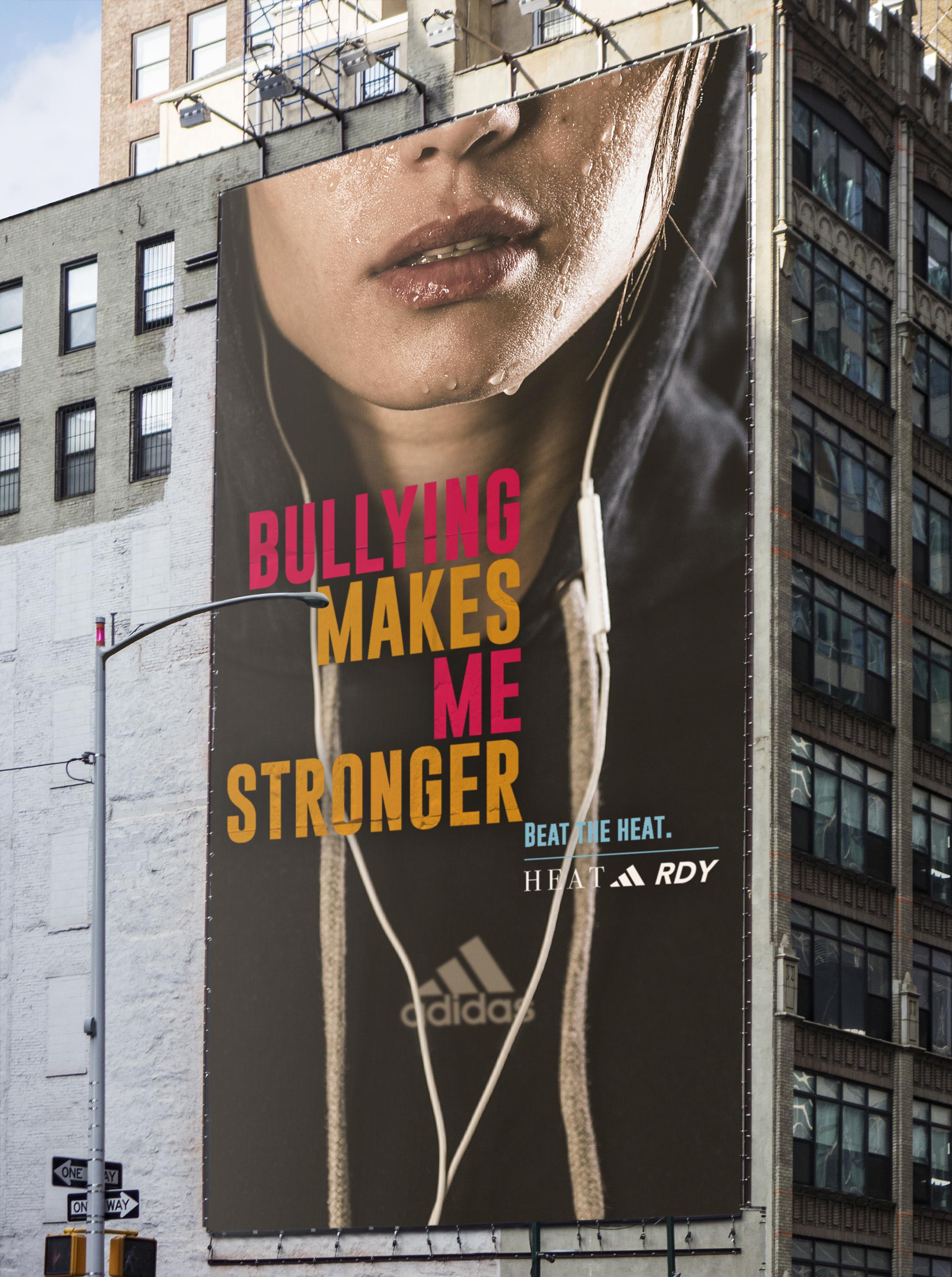 Blank billboard in New York City