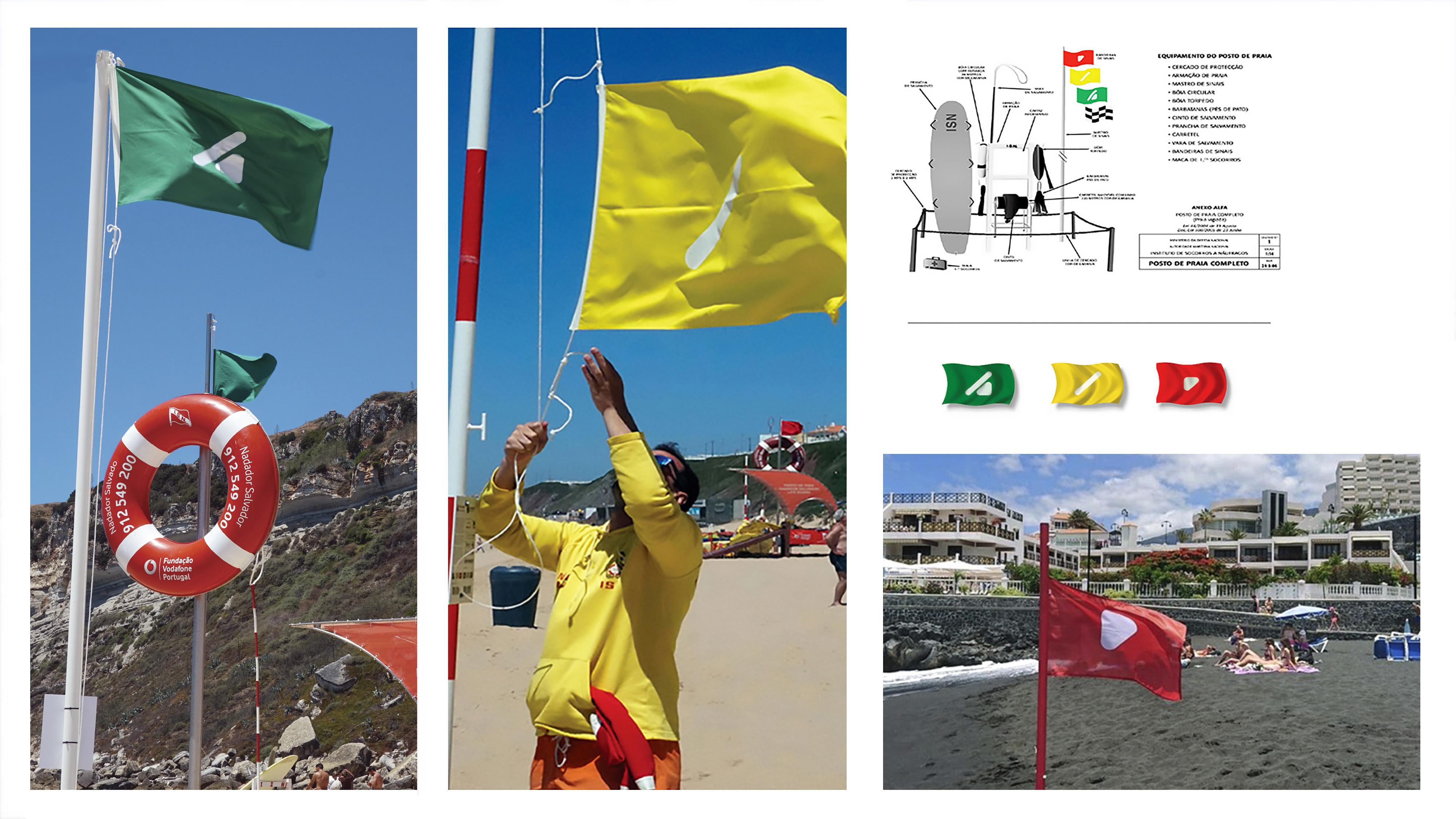 board bandeiras