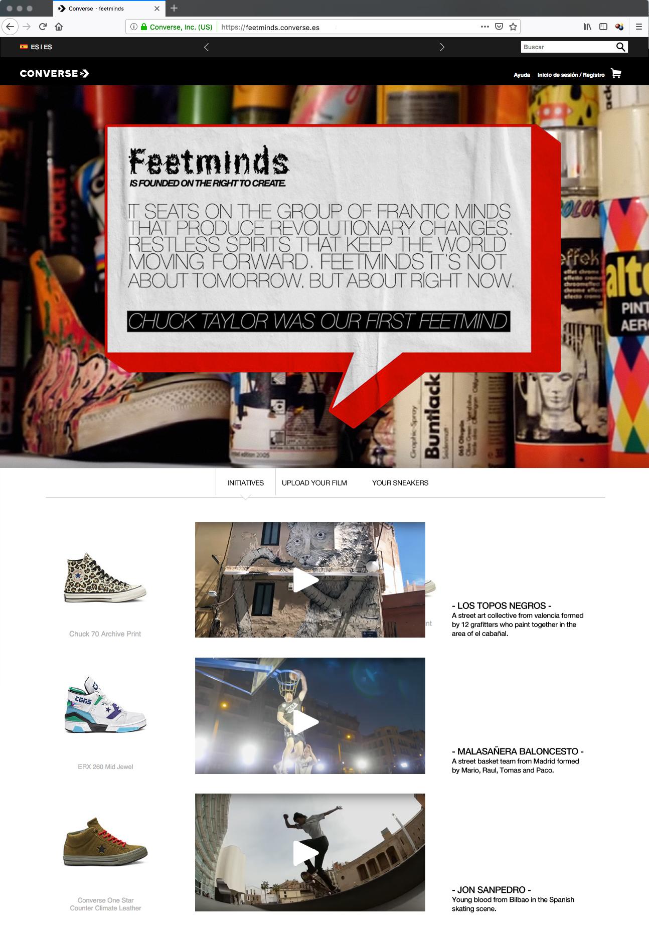 feetminds web